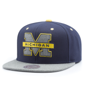 Бейсболка Mitchell & Ness - Michigan Wolverines Greytist Snapback