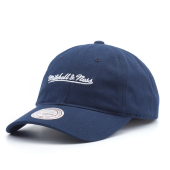 Бейсболка Mitchell & Ness - M&N Washed Cotton Dad Hat (navy)