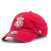 Бейсболка '47 Brand - Liverpool FC Crest Clean Up (red)