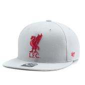 Бейсболка '47 Brand - Liverpool FC No Shot Snapback (grey)
