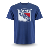 Футболка '47 Brand - New York Rangers Logo Frozen Rope Tee