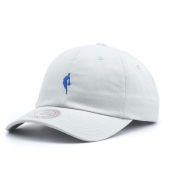 Бейсболка Mitchell & Ness - Little Dribbler Dad Hat (light grey/royal)