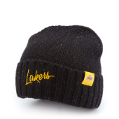 Шапка Mitchell & Ness - Los Angeles Lakers TC Heather Script Knit Beanie