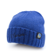 Шапка Mitchell & Ness - Golden State Warriors TC Heather Script Knit Beanie