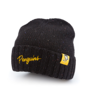 Шапка Mitchell & Ness - Pittsburgh Penguins TC Heather Script Knit Beanie
