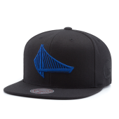 Бейсболка Mitchell & Ness - Golden State Warriors Elements Snapback