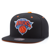 Бейсболка Mitchell & Ness - New York Knicks Solid Velour Logo Snapback