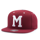Бейсболка Mitchell & Ness - Montreal Maroons Solid Velour Logo Snapback