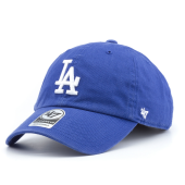 Бейсболка '47 Brand - Los Angeles Dodgers Clean Up (royal)