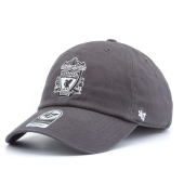 Бейсболка '47 Brand - Liverpool FC Crest Clean Up (charcoal)
