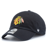 Бейсболка '47 Brand - Chicago Blackhawks Clean Up