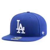 Бейсболка '47 Brand - Los Angeles Dodgers No Shot Snapback (royal/white)