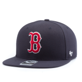 Бейсболка '47 Brand - Boston Red Sox No Shot Snapback (navy)