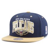 Бейсболка Mitchell & Ness - New Orleans Pelicans Team Arch 2 Tone Snapback