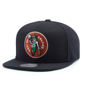 Бейсболка Mitchell & Ness - Boston Celtics Wool Soild Snapback