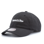 Бейсболка Mitchell & Ness - M&N Washed Cotton Dad Hat (black)