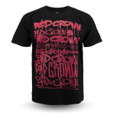 Футболка Bad Crown - Dirty Tags (black/red)