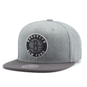 Бейсболка Mitchell & Ness - Brooklyn Nets Heather Reflective Snapback