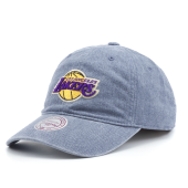 Бейсболка Mitchell & Ness - Los Angeles Lakers Blast Wash Slouch Strapback