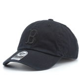 Бейсболка '47 Brand - Boston Red Sox Clean Up All Black