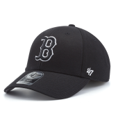 Бейсболка '47 Brand - Boston Red Sox '47 MVP Black & White Snapback