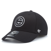 Бейсболка '47 Brand - Chicago Cubs '47 MVP Black & White Snapback