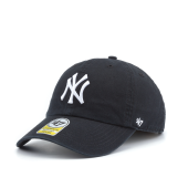 Бейсболка '47 Brand - New York Yankees Youth Clean Up (black)