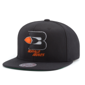 Бейсболка Mitchell & Ness - Buffalo Braves Wool Soild Snapback