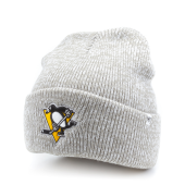 Шапка '47 Brand - Pittsburgh Penguins Brain Freeze Cuff