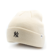 Шапка '47 Brand - New York Yankees Centerfield Cuff Knit (natural)