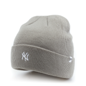 Шапка '47 Brand - New York Yankees Centerfield Cuff Knit (slate grey)