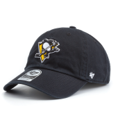 Бейсболка '47 Brand - Pittsburgh Penguins Clean Up