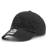 Бейсболка '47 Brand - Los Angeles Dodgers Clean Up All Black