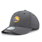 Бейсболка Mitchell & Ness - Golden State Warriors Poly Herringbone Snapback