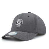 Бейсболка Mitchell & Ness - Brooklyn Nets Poly Herringbone Snapback