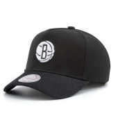 Бейсболка Mitchell & Ness - Brooklyn Nets Denim Visor Snapback