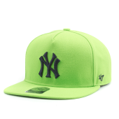 Бейсболка '47 Brand - New York Yankees Sure Shot DT Snapback (lime)
