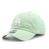 Бейсболка '47 Brand - Los Angeles Dodgers Clean Up Pastel Green (hemlock)