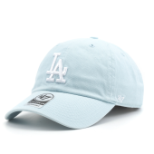 Бейсболка '47 Brand - Los Angeles Dodgers Clean Up Pastel Blue (mako)