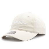 Бейсболка Mitchell & Ness - M&N Washed Cotton Dad Hat (oyster grey)