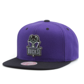 Бейсболка Mitchell & Ness - Milwaukee Bucks Zig Zag Snapback