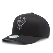 Бейсболка Mitchell & Ness - Milwaukee Bucks Melange Logo 110 Snapback