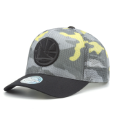 Бейсболка Mitchell & Ness - Golden State Warriors Flou Camo 110 Snapback