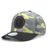 Бейсболка Mitchell & Ness - Brooklyn Nets Flou Camo 110 Snapback