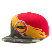 Бейсболка Mitchell & Ness - Houston Rockets Camo Paintbrush Snapback