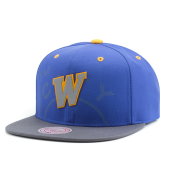 Бейсболка Mitchell & Ness - Golden State Warriors Reflective 2 Tone Snapback