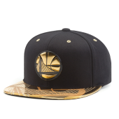Бейсболка Mitchell & Ness - Golden State Warriors Gold Standard Snapback