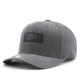 Бейсболка Mitchell & Ness - M&N Washed Heather Snapback (black)