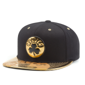 Бейсболка Mitchell & Ness - Boston Celtics Gold Standard Snapback