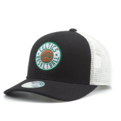 Бейсболка Mitchell & Ness - Boston Celtics HWC Patch 110 Snapback